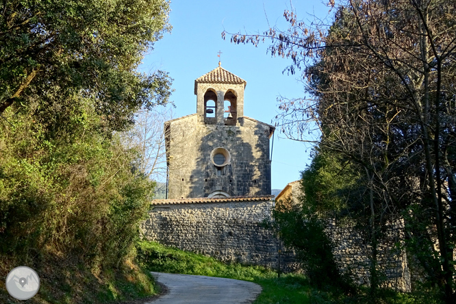 De Sadernes a Santa Bàrbara a l