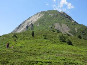 La Dent d�Orlu (2.222m) pel Serrat de la Llau