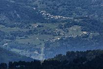 El poble de Tuixent.