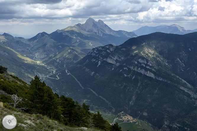 El Cadinell (2.113m) des de Josa de Cadí 1