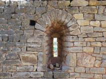 Part del que fou l´església de Sant Sadurní.