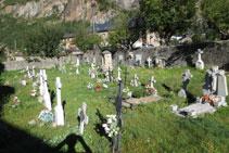 Cementiri del poble de Barruera, el cap municipal de la Vall de Boí.