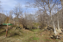 Zona de pícnic des d´on iniciem la pujada a Sorre.
