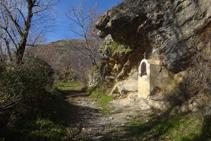 La petita capella de Sant Jaume.