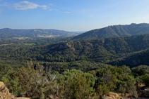 Santa Cristina d´Aro i la vall d´Aro.