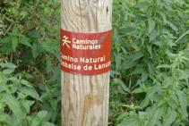 Senyal del Camí Natural.