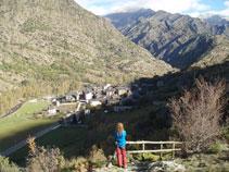 Vistes d´Alins i de la vall