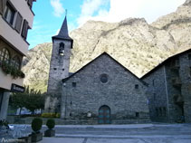 Església parroquial de Sant Vicenç d´Alins