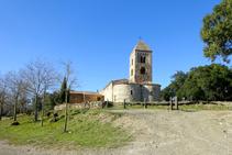 Conjunt romànic de Santa Coloma de Fitor.