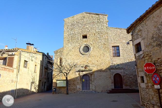 Església i dòlmens de Fitor des de Fonteta 1