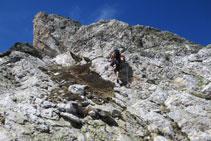 En general, la roca és bona i estable, oferint-nos bones preses.