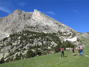 Gra de Fajol (2.714m) per l�esper� NE