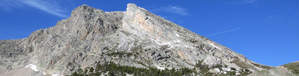 Gra de Fajol (2.714m) per l�esperó NE