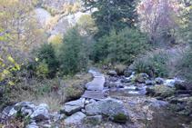 Pontet sobre el riu de Perafita.