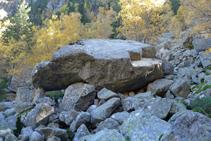 Una de les anomenades Pedres Balladores.