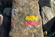 Marques grogues i vermelles del GRP.