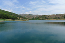 Estany de Montcortès.