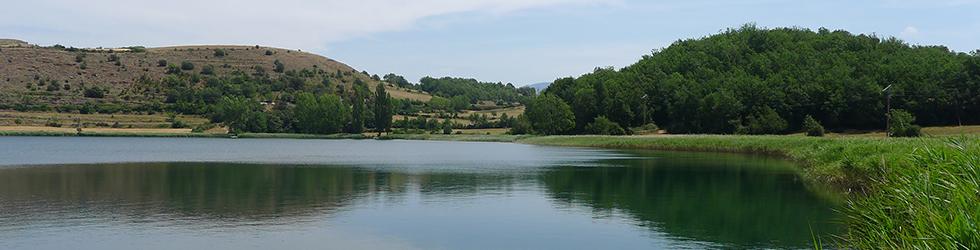 Estany de Montcortès des de Senterada
