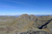 El pic de la Serrera (2.913m).