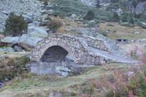 Pont de la font del Travenc.