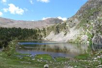 Estany gran de la Pera (estany superior).