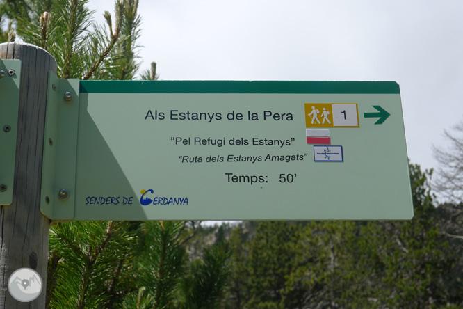 Estanys de la Pera des de Pollineres 1
