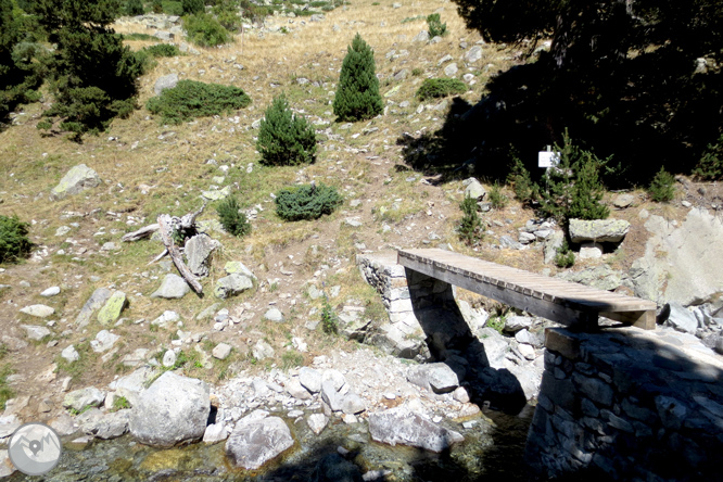 Estanys del Pessó des del pont de la Ribera 1