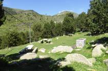 Zona de picnic al punt d´inici.