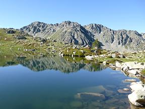 Estanys d�Ensagents i Alt del Griu (2.879m)