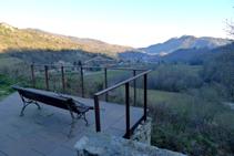 Mirador a l´extrem S del veïnat de la Roca.