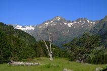 Els pics i les crestes afilades són els grans dominadors de les altures de la vall de Benasc.