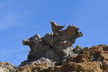 Roca de s´Àliga al Paratge de Tudela.