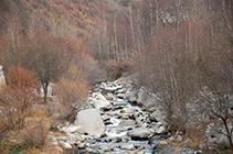 El riu Ter.
