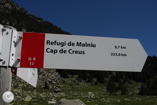 GR 11 - Etapa 13: Refugi de Malniu - Refugi de l