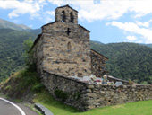 Església de Sant Serni de Nagol a Sant Julià de Lòria
