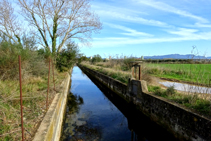Canal Gros sota el Montpedrós.