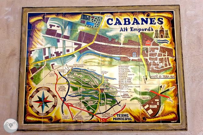 Itinerari circular de Peralada a Cabanes 1