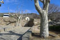 La Font de Dalt, situada just per sota de l´aparcament.