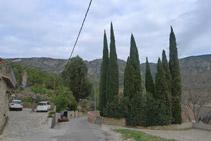 Seguim pel carrer Ciutat uns 200m fins a la Font de Dalt.