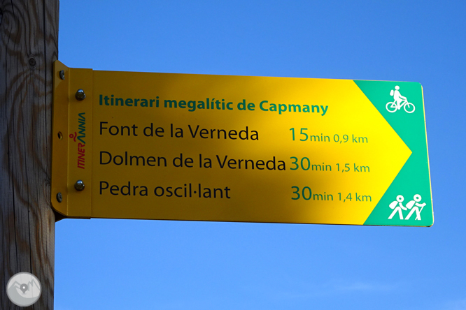Itinerari megalític de Capmany 1