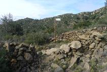 Trencall del camí de Sant Onofre.