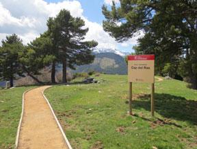 Itinerari adaptat fins al mirador del Cap del Ras