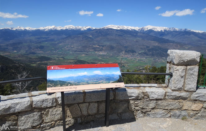 Itinerari adaptat fins al mirador del Cap del Ras 1