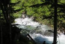 El riu Escrita recorre tota la vall, des de Sant Maurici fins a desembocar a la Noguera Pallaresa.