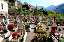 Cementiri parroquial de Bausen.