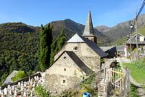 Església de Sant Pèir ad Víncula de Bausen.