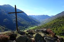 Vista del Baish Aran des de Bausen.