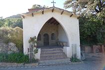 Exterior de la capella del Roser.