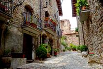 La vila closa de Peramea.