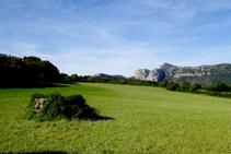 El dolmen de la Cabana de la Mosquera.